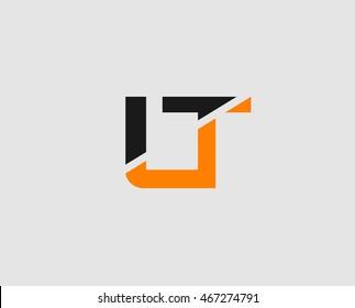 Letter LT Logo
