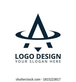 Letter A Luxurious Logo Design