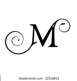 Letter M Tattoo Images Stock Photos Vectors Shutterstock