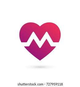 Heart Letter M Images, Stock Photos & Vectors | Shutterstock