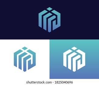 Letter M J logo design. creative minimal monochrome monogram symbol. Universal elegant vector emblem. Premium business logotype. Graphic alphabet symbol for corporate identity