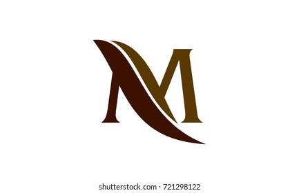 Letter M Leaf