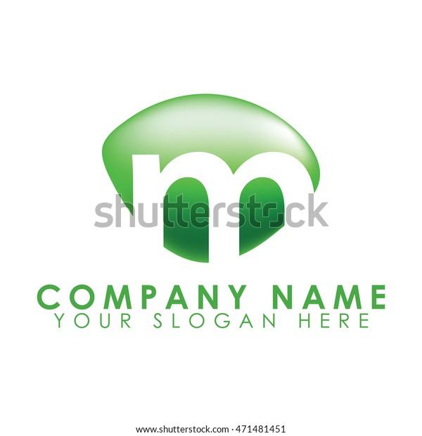 Letter M Logo Creative Stylish Stock Vector (Royalty Free