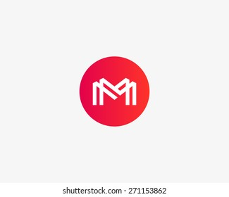 Letter M logo icon vector design