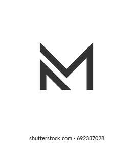 Letter M Logo Template Illustration Design. Vector EPS 10.
