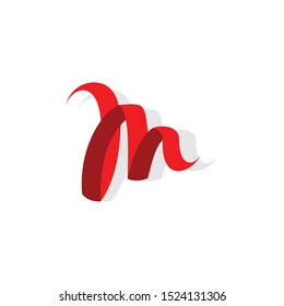 Letter m logo template Vector