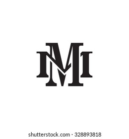 letter M and M monogram logo