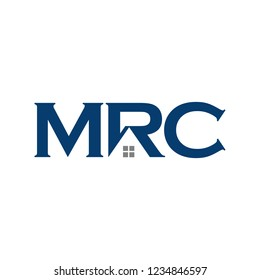 Letter M, R, and C vector logo.