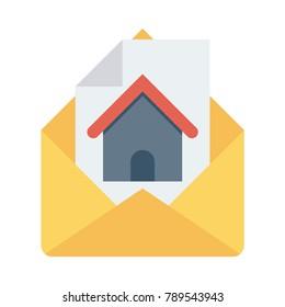letter message post