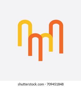 letter Mlogo