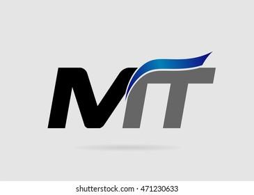 Letter MT Logo