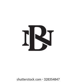 letter N and B monogram logo