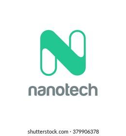 Letter N Logo design vector template.  Font Logotype
