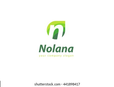 letter N logo Template for your company