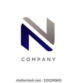 Letter N Logo Templates, Modern N Logo Design, Creative Logo Design