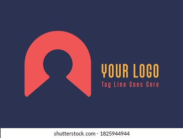 Letter N Security business logo
