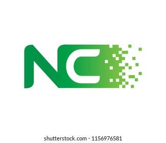 Letter NC Logo Template Design Vector, Emblem, Concept Design, Creative Symbol, Icon