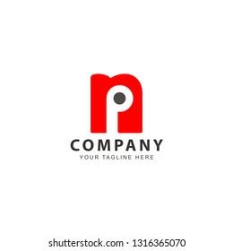 Letter NP Logo Design Inspiration