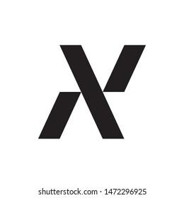 Letter NP logo design vector