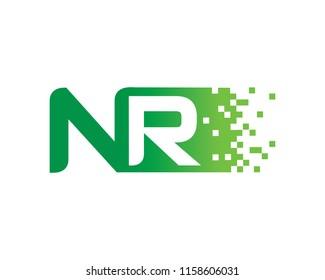 Letter NR Logo Template Design Vector, Emblem, Concept Design, Creative Symbol, Icon