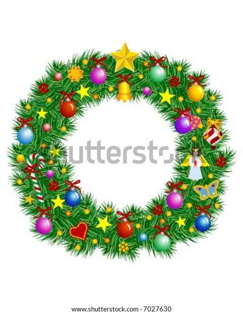 Letter O - Christmas decoration - part of a full set Alphabet