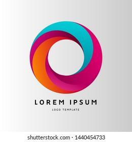 Letter O Logo Design, Modern Creative O Logo, Tech Logo, abstract vector, Font Logo