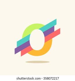 Letter O logo icon design template elements