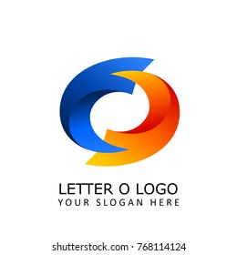 letter o synchronize logo