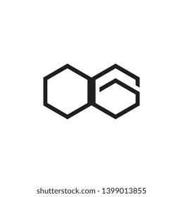 Letter OG logo design vector