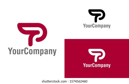 Letter P D logo icon design template elements. Simple minimalist template graphic illustration. Creative vector emblem, for icon or design concept.