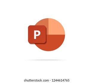 letter P icon vector illustration