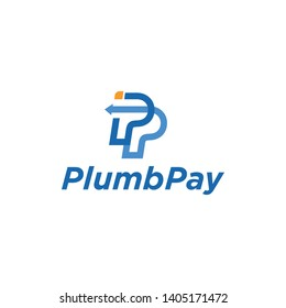 Letter P Initial For Pay Logo Design Inspiration