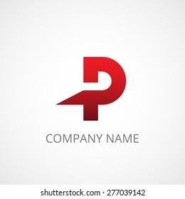 Letter P Logo Images Stock Photos Vectors
