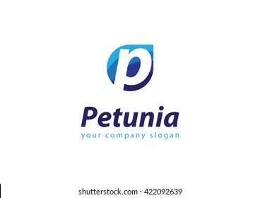 letter P logo Template for your company