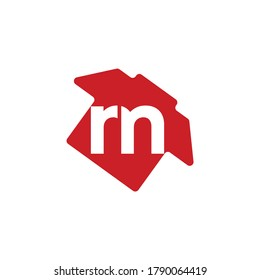 """The letter """"P"""" and """"M"""" in a men's shirt combination. Logo. Monogram. Vector."""