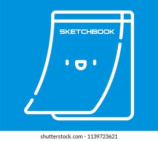 LETTER PAD VECTOR ICON