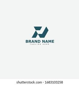 Letter PJ logo icon design template elements