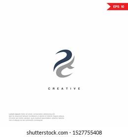 Letter PT Logo icon monogram design. Vector graphic design template element.