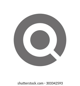 Letter Q Logo Concept Icon. Vector