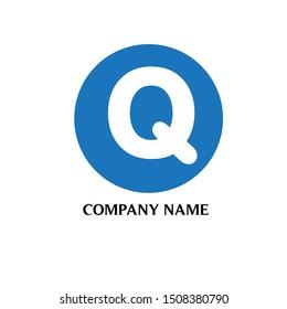 letter Q logo design vector icon template