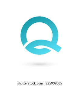 Letter Q logo icon design template elements