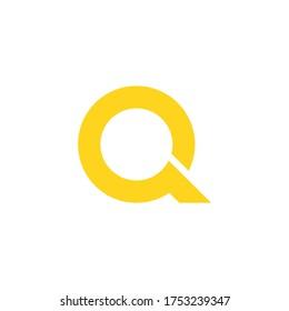 Letter Q logo suitable for icon,logo company,etc
