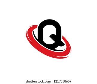 Letter Q Logo Template Design Vector, Emblem, Concept Design, Creative Symbol, Icon