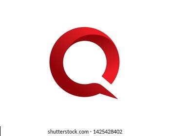Letter Q Logo Template, Icon, Symbol