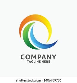 Letter Q modern logo design. initial Q logo inspiration