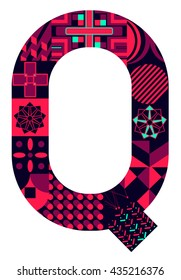 Letter Q from my letter collection