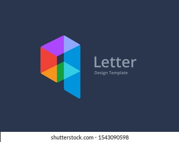 Letter Q or number 9 construction logo icon design template elements