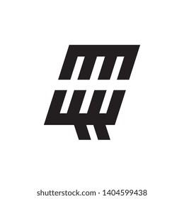 Letter QQ logo design vector