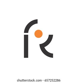 letter r with circle logo