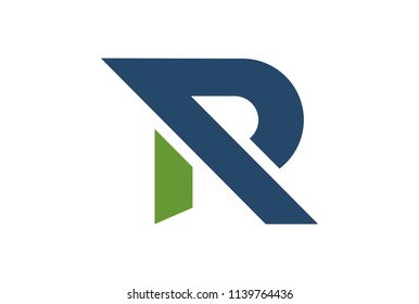 letter R initial logo icon